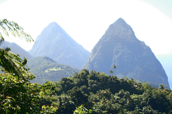 Hike the Pitons